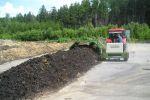 Překopávač kompostu  do 500t